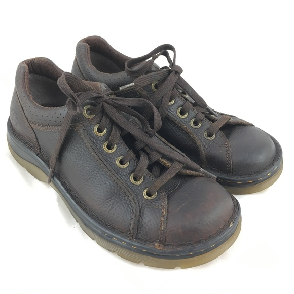 c27d6d7afb09 Dr. Martens Shoes - Dr Martens oxfords brown leather chunky Rohan 8